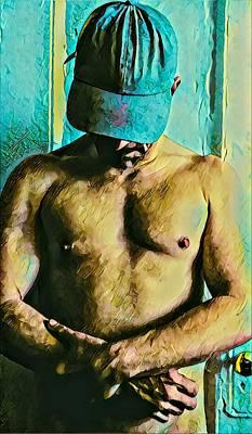 Digital Art - The Narcissistic Meth Addict by Irvin Kelly