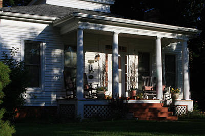 Photograph - The Old Front Porch by Kay Novy