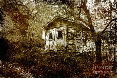 Photograph - The Old Garage by Michael Eingle