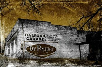 Photograph - The Old Garage  by Wesley Nesbitt