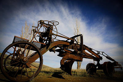 Photograph - The Old Grader by Steve McKinzie