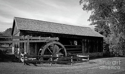 Photograph - The Old Grist Mill, Vermont by Deborah Klubertanz