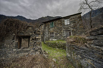 Photograph - The Old Hamlet Of The Abandoned Village by Enrico Pelos
