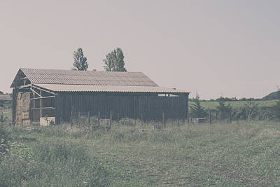 The Old Shed Photograph - The Old Hay Barn by Georgia Fowler