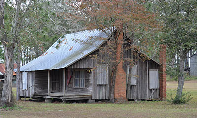 Photograph - The Old Home Place On The Farm by rd Erickson