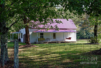 Photograph - The Old Home Place by Paul Mashburn