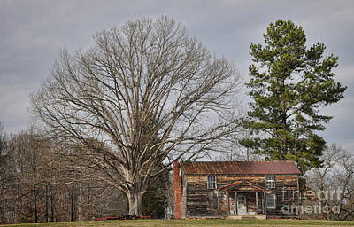 Photograph - The Old Homeplace by Randy Rogers
