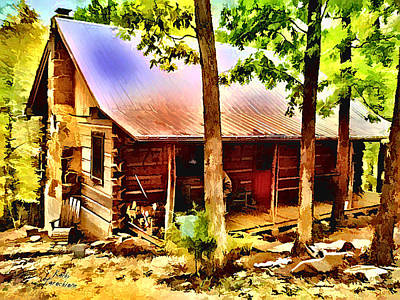 Photograph - The Old Homestead by Kathy Tarochione