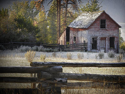 The Old Homestead Near Merritt Art Print
