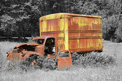 Photograph - The Old Homestead Truck 2 by Richard J Cassato