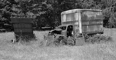 Photograph - The Old Homestead Truck 4 by Richard J Cassato