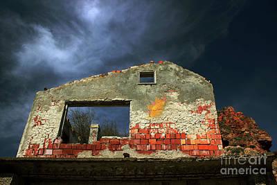 Photograph - The Old House by Nedko  Nedkov