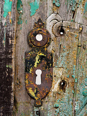Photograph - The Old Keyhole by Rae Tucker