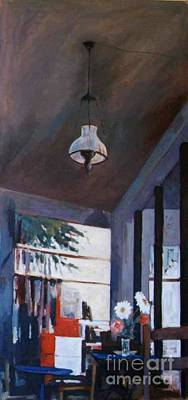 The Old Lamp Art Print by George Siaba