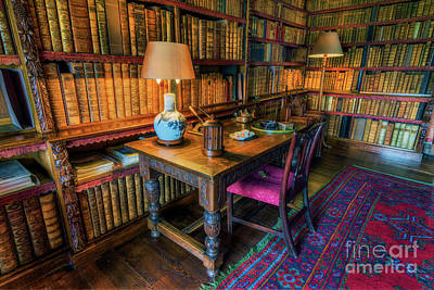 Photograph - The Old Library by Ian Mitchell
