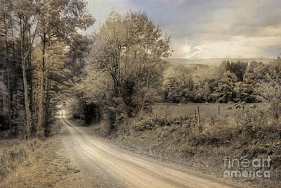 Old Country Roads Digital Art - The Old Lifestyle by Lori Deiter