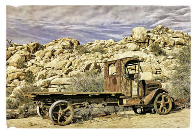 Photograph - The Old Mack by Sandra Selle Rodriguez