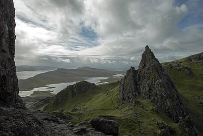 The Old Man Of Storr Art Print by Dubi Roman