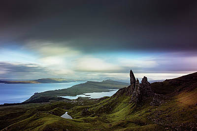 Photograph - The Old Man Of Storr by Ian Good