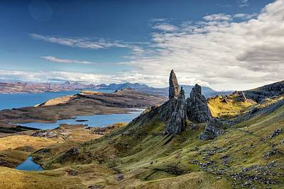 Photograph - The Old Man Of Storr by Martin Bennie