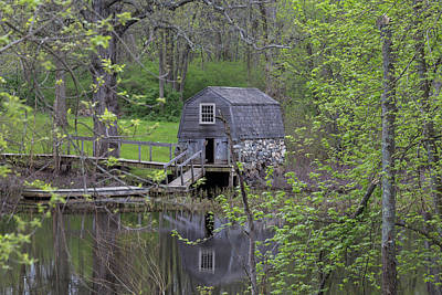 Photograph - The Old Manse Boat House by Brian MacLean
