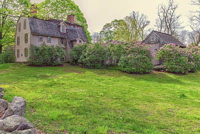 Photograph - The Old Manse Concord, Massachusetts by Brian MacLean