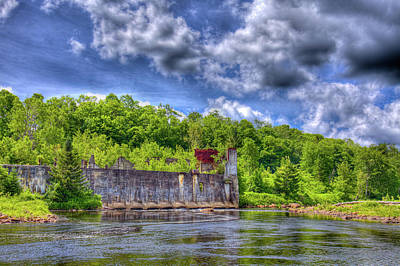 Photograph - The Old Mckeever Pulp Mill by David Patterson