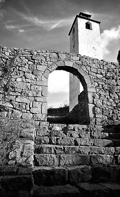 Medieval Entrance Digital Art - The Old Medieval Fortress by Zoran Kepic