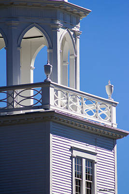 Photograph - The Old Meeting House Detail by Dick Botkin