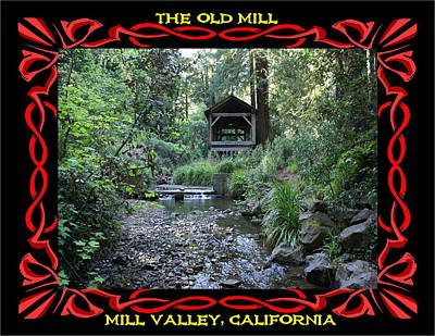 Photograph - The Old Mill 1 by Ben Upham III