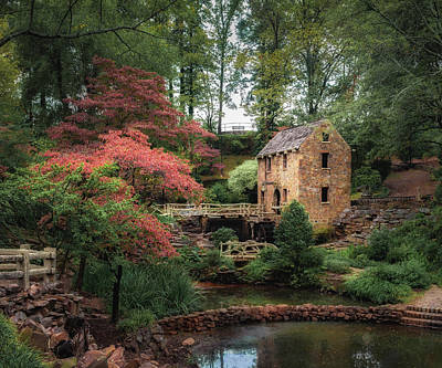 Photograph - The Old Mill 5x6 by James Barber