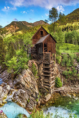 Photograph - The Old Mill by Dan McGeorge
