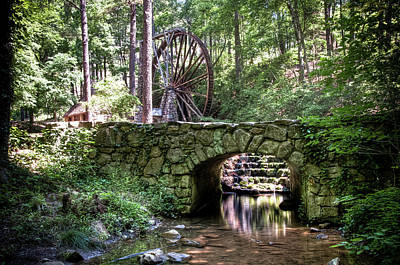 Photograph - The Old Mill by Daryl Clark