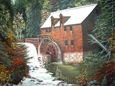 The Old Mill Art Print
