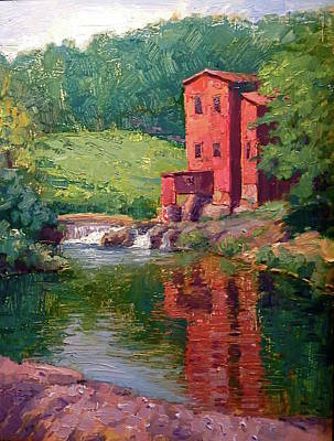 The Old Mill Original by Doug Gorrell