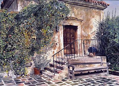 The Old Mill El Molina Viejo Art Print