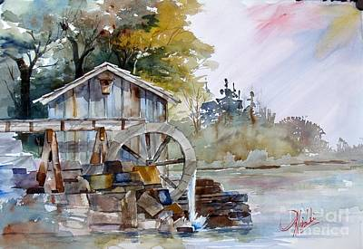 Painting - The Old Mill by Gerald Miraldi