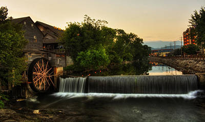 Old Mills Photograph - The Old Mill by Greg Mimbs