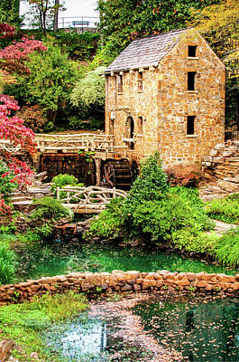 Photograph - The Old Mill In North Little Rock by Gregory Ballos
