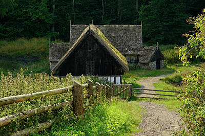 Photograph - The Old Mill by Inge Riis McDonald