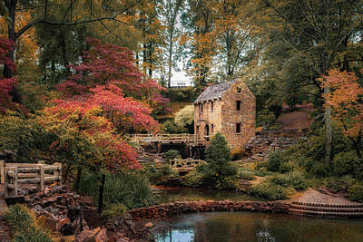 Photograph - The Old Mill by James Barber