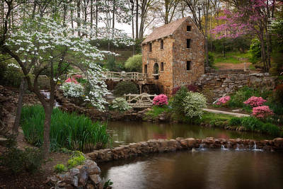 Photograph - The Old Mill by Jonas Wingfield