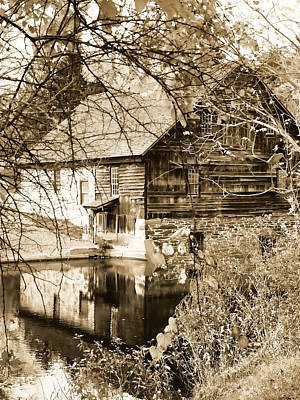 Photograph - The Old Mill by Michael Dorn
