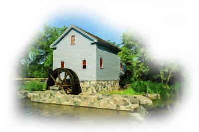 Digital Art - The Old Mill by Michael Osinski