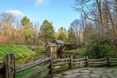 Photograph - The Old Mill by Michael Scott