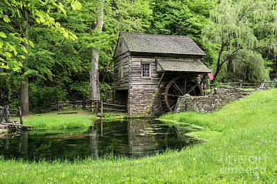 Photograph - The Old Mill by Nicki McManus