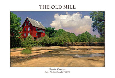 The Old Mill Art Print by Peter Muzyka