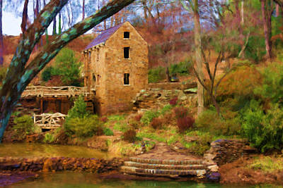 The Old Mill Art Print by Renee Skiba