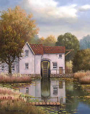 The Old Mill Print by Sean Conlon