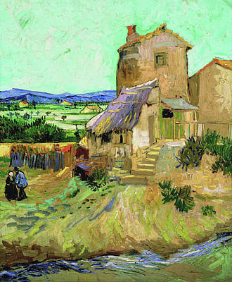 Painting - The Old Mill by Vincent van Gogh